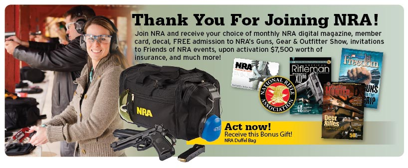 $30 NRA Membership - FREE GIFTS AVAILABLE! NEW 2017 PROMOTIONS ...